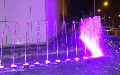 Pileta Mall del Sur